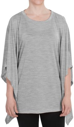 dylan Oversized Heathered Knit Shirt (For Women)