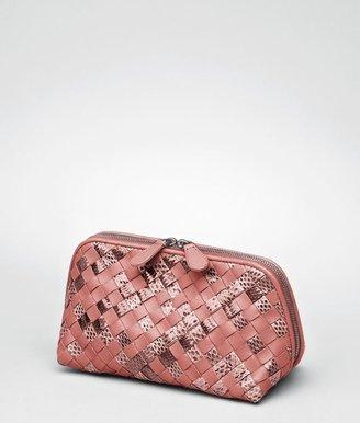 Bottega Veneta Boucher intrecciato ayers nappa cosmetic case
