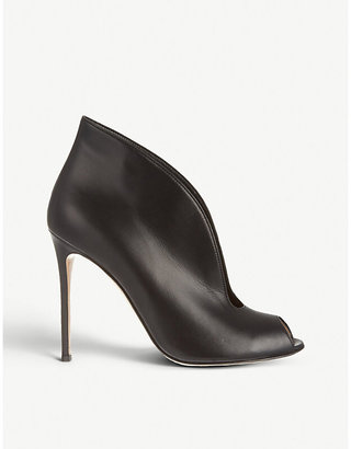 Gianvito Rossi Women's Black Lombardy Leather Heeled Ankle Boots, Size: EUR 35 / 2 UK WOMEN