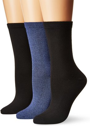 K. Bell Women's Soft and Dreamy 3 Pack Crew Socks