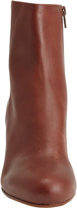 Maison Martin Margiela Haircalf Side-Zip Ankle Boots