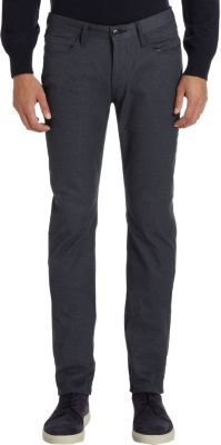Paul Smith Five-Pocket Drainpipe Pants