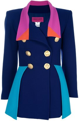 Christian Lacroix Vintage Colour block suit
