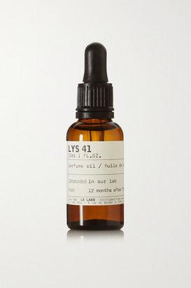 Le Labo Lys 41 Perfume Oil - Lily & White Flowers, 30ml