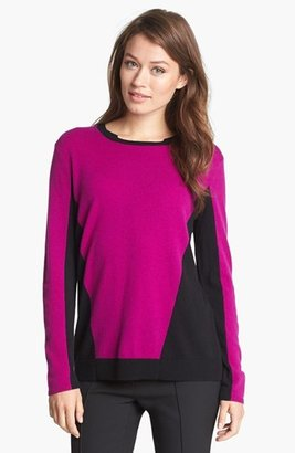 Nordstrom Colorblock Cashmere Sweater
