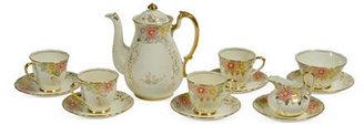 Vintage English Tea Set, 13 Pcs.