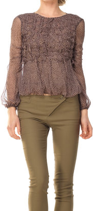 Max Studio Long Sleeve Blouse