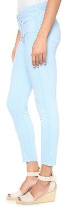 Vince Ghost Stripe Skinny Jeans