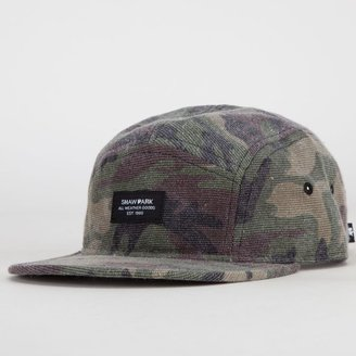 Camo SHAW PARK Washed Mens 5 Panel Hat