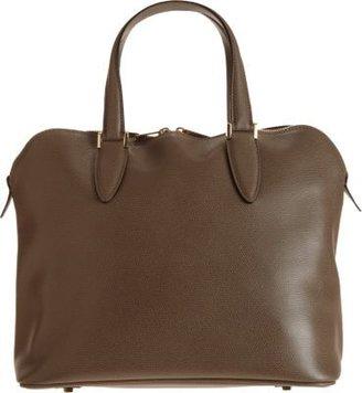 Valextra Medium 75 Top Handle Bag