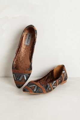 Matisse Mexicali Embroidered Flats