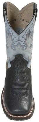 """Double H Black Ice Boots - Square Toe, 11"""" (For Men)"""