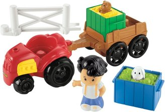 Fisher-Price Little People Tractor & Trailer
