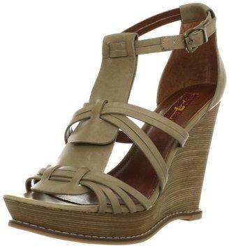 7 For All Mankind Women's Rhemy Wedge Sandal