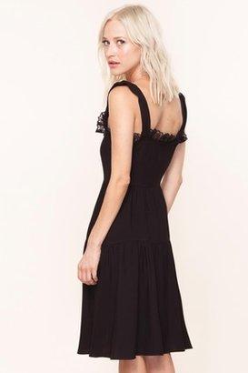 For Love & Lemons Swing Dress in Black $209 thestylecure.com