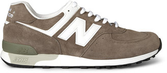 New Balance 576 Suede And Leather Sneakers
