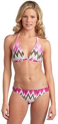 Vince Camuto Beverly Zig Zag Hipster Swim Bottoms