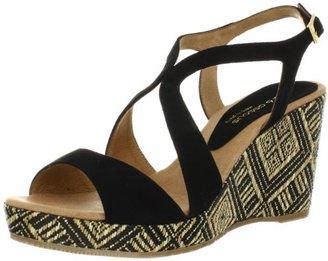 Andre Assous Women's Johanna Mid Wedge Sandal
