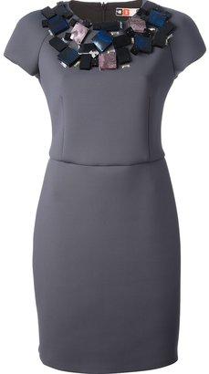 MSGM embellished dress