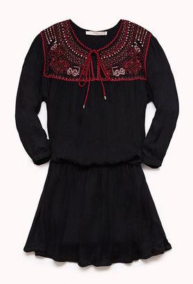 LOVE21 LOVE 21 Boho Babe Dress