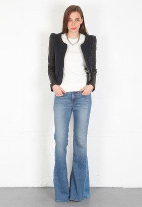 Rebecca Minkoff Odyssey Jacket in Black/Navy Felt