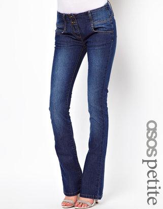 Asos Super Sexy Flare Jean in Vintage Wash