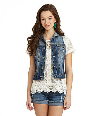 Silver Jeans Co. Denim Vest