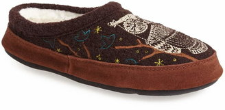Acorn 'Forest' Wool Mule Slipper