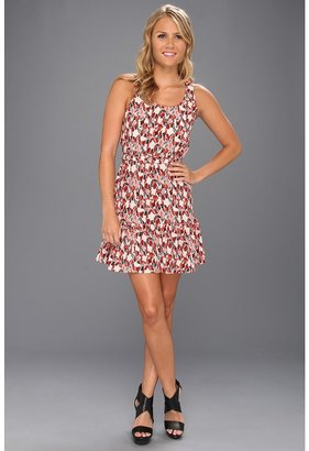 Joie Ori B Silk Dress (Poppy) - Apparel