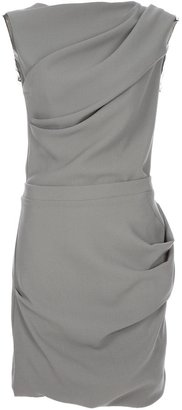 Roksanda Ilincic draped shift dress