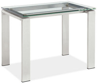 Room & Board Rand End Table in Stainless Steel