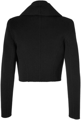 Donna Karan Cashmere Jacket in Black