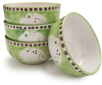 Sur La Table Hand-Painted Italian Cereal Bowl Frog