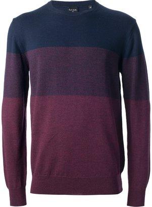 Paul Smith block striped sweater