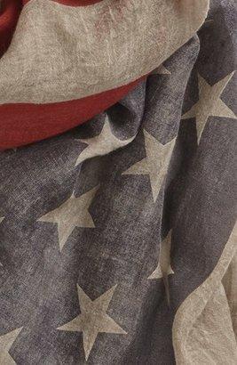 John Varvatos Men's Collection Flag Print Scarf