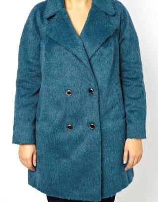 Asos Brushed Longline Coat
