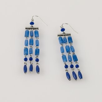 Ralph Lauren Beaded Chandelier Earrings