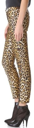 3.1 Phillip Lim Leather Leopard Jodhpurs