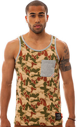 Camo Standard and Grind The New Allover Pocket Tank