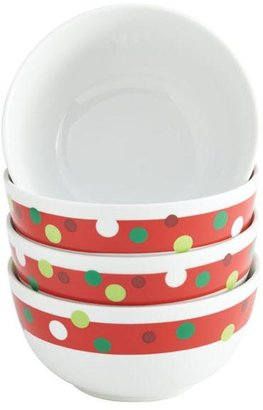 Rachael Ray 4-pc. Hoot's Decorated Tree Cereal Bowl Set