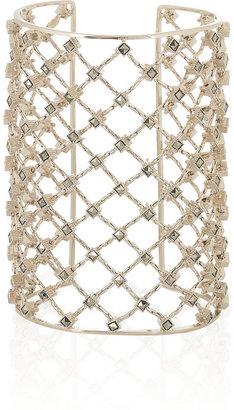 Valentino Gold-plated Swarovski crystal cuff