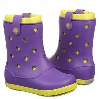 Crocs Kids' Crocband Hearts Boot T/P