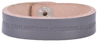 Bless Leather bracelet grey