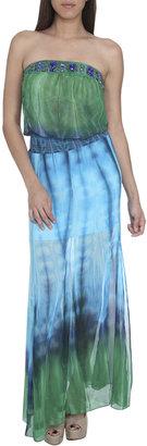 Arden B Tie-Dye Maxi Dress