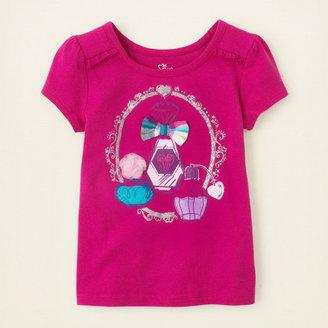 Children's Place 3D embellished top