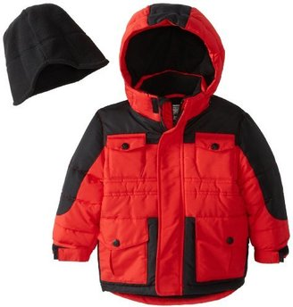 Rothschild Little Boys' Two Tone Puffer Jacket