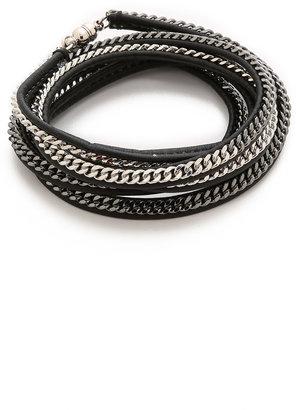 Vita Fede Capri 5 Wrap Bracelet $265 thestylecure.com