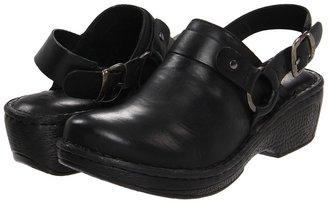 Børn Jella (Black Leather) - Footwear