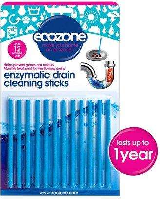 Ecozone Drain Sticks, Pack of 12