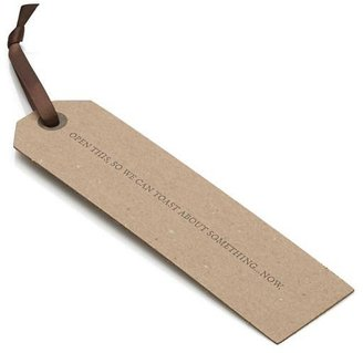 Crate & Barrel Toast Wine Tag